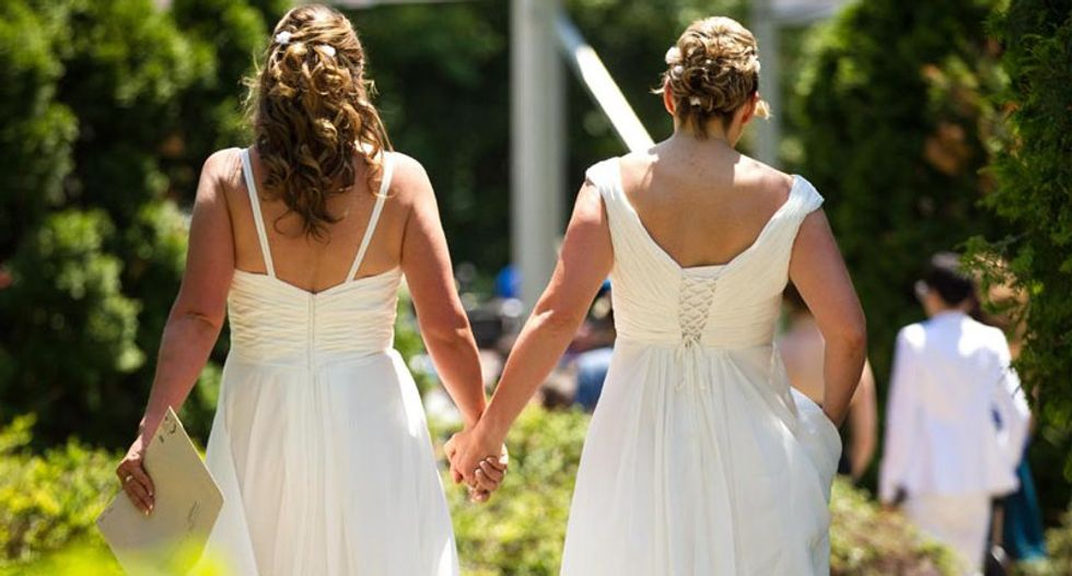 North Carolina Senate passes bill to allow officials to refuse to marry same-sex couples