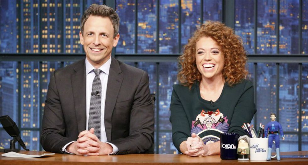 Seth Meyers launches a passionate defense of Michelle Wolf: She made 'fun of people in power who lie to us on a daily basis'