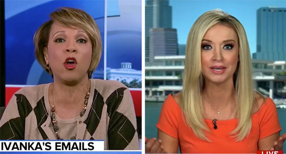 WATCH: Kayleigh McEnany shut down by former GOP committee counsel after bumbling defense of Ivanka's illegal emails