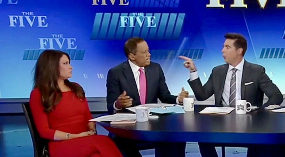 'Let me talk or you won't have a show': Fox News panel explodes in screaming match over Trump's immigration blunders