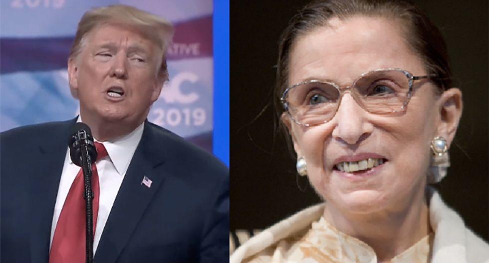 NPR's Nina Totenberg blows up Trump's lie about Ruth Bader Ginsburg's dying wish