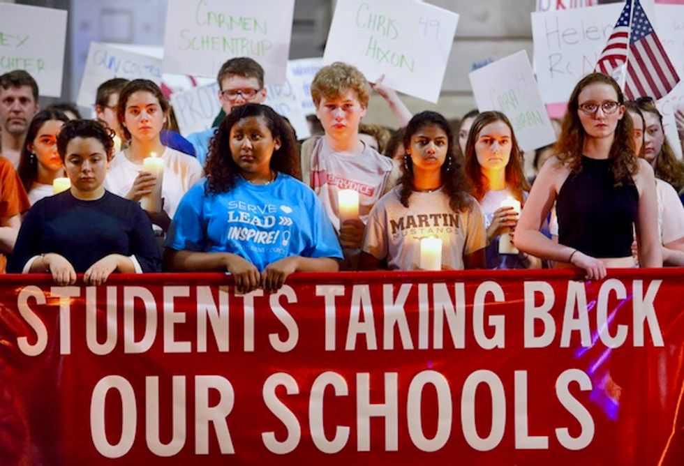 A Maryland school told them to be quiet -- but see what these students did