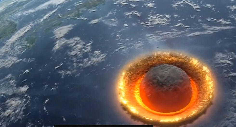 Creationist says don't worry about an 'asteroid apocalypse' on Earth because God already has a plan