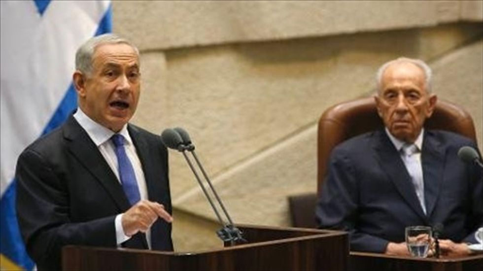 Israeli president Peres on Iran: 'The facts contradict the speeches'