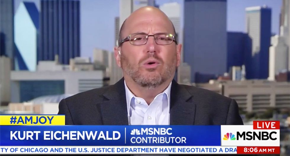 'No innocent explanation for this': Kurt Eichenwald exposes reasons for Kushner meeting with Russian bankers