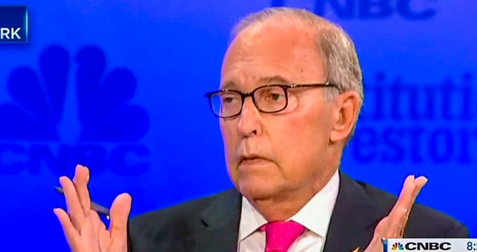 White House adviser Larry Kudlow: Donald Trump is 'very attentive' and 'loves facts'