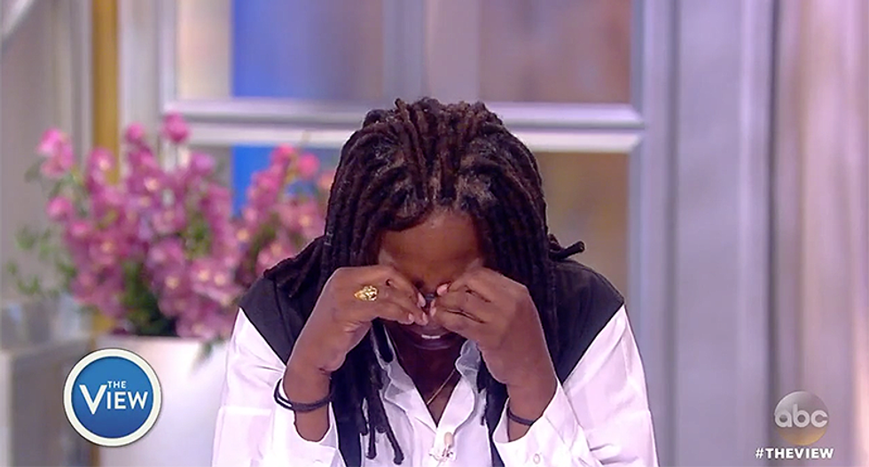 Whoopi Goldberg calls out 'the baby in the White House' who 'just can't help himself'