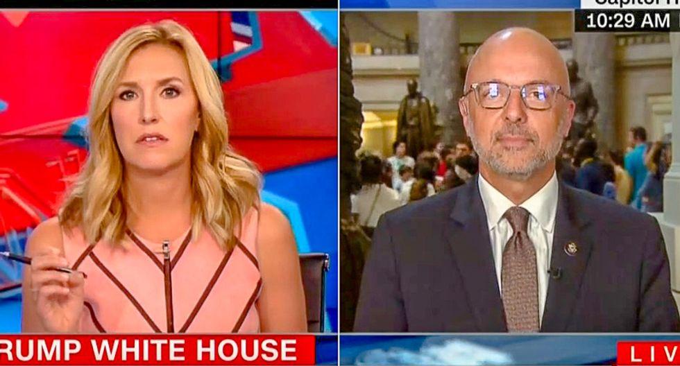 CNN host demands Dem representative 'concede' on Russia: Trump is 'actually tougher than Obama'