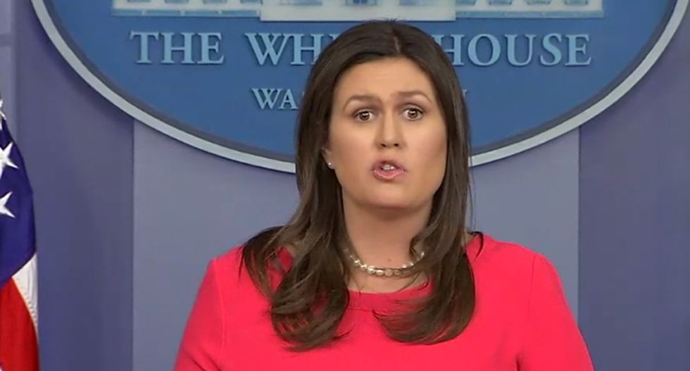 Mueller report busts Sarah Sanders for telling blatant lies to America to defend Trump