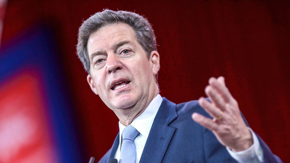 Gov. Sam Brownback: Forcing women to have babies is part of 'pro-economic growth agenda' in Kansas