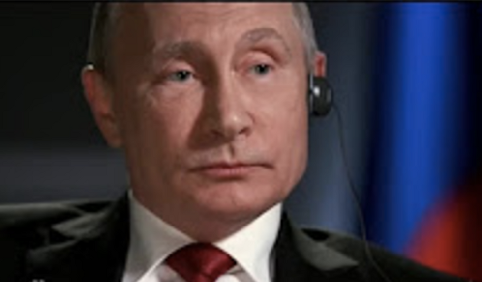 'Another load of nonsense': Putin denies having blackmail material on Trump