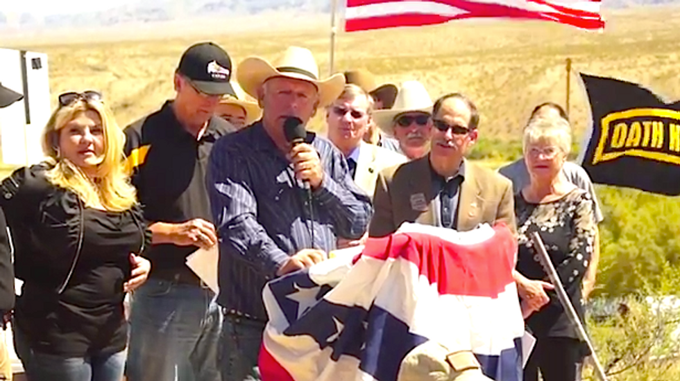 Cliven Bundy family rallies support for bill banning federal ownership of land in Nevada