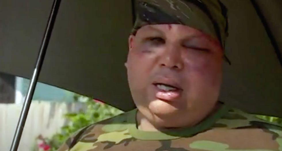 Off-duty New Orleans cops beat the hell out of Hispanic man for wearing camouflage