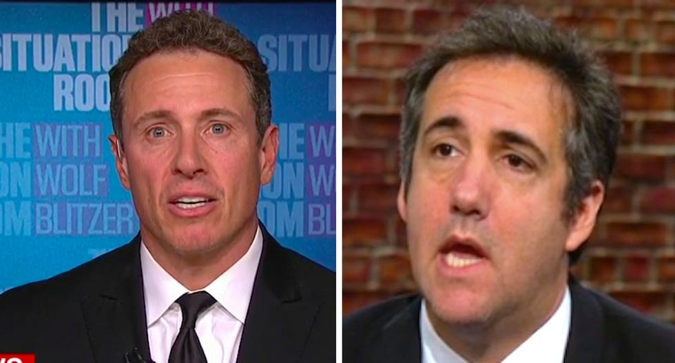 Michael Cohen recorded 2-hour conversation with CNN's Chris Cuomo confessing to Stormy Daniels payout: report