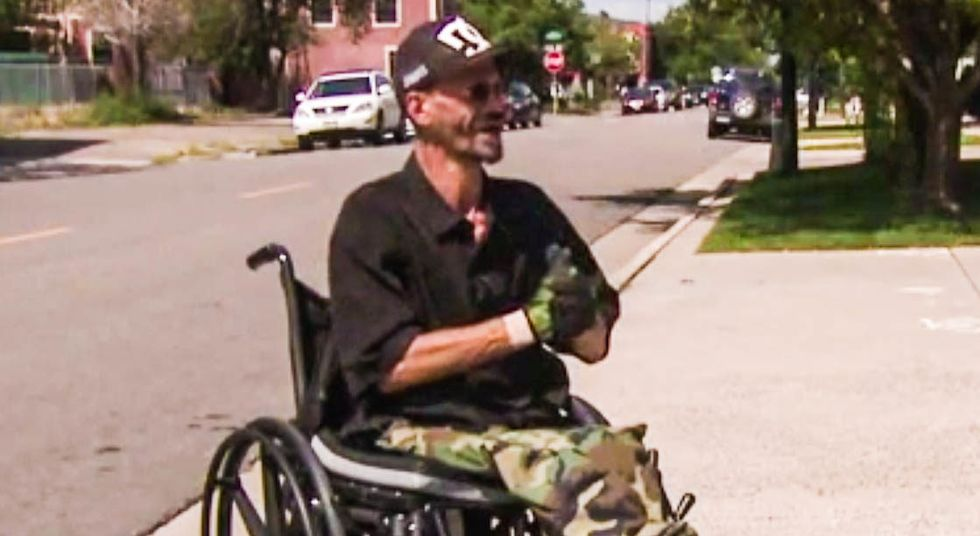 Man in wheelchair gets hit by a car -- then cops ticket him for being too slow crossing the street