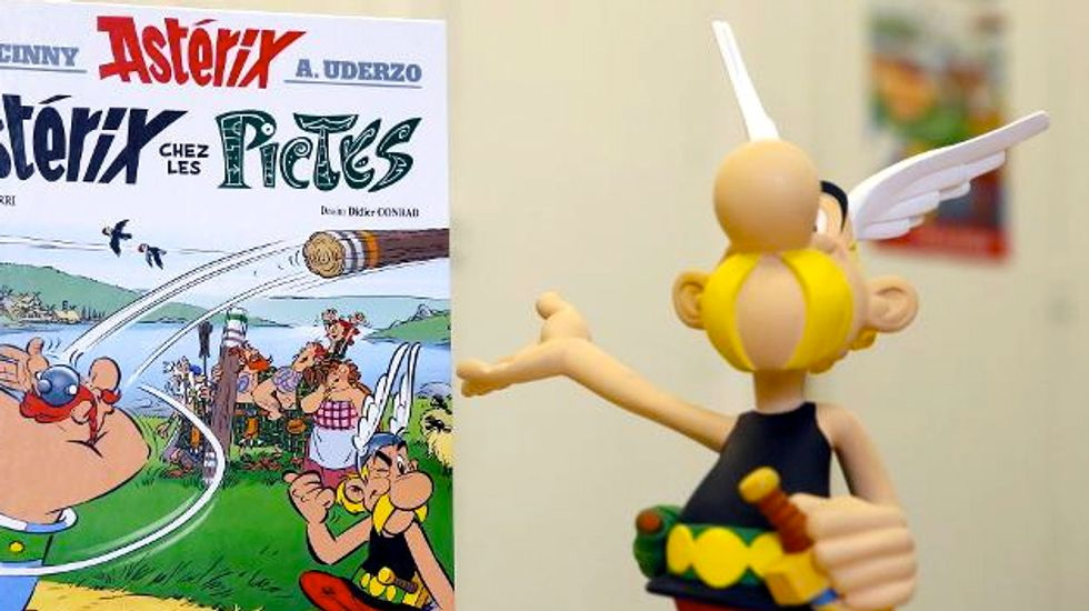 Comic book hero 'Asterix' returns for first new adventure in eight years