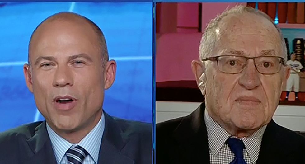 Michael Avenatti destroys 'Trump sycophant' Alan Dershowitz: 'What happened to you?'
