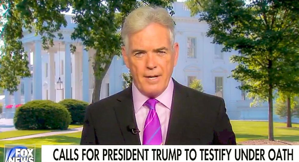 Fox News White House correspondent: 'Don't hold your breath very long waiting for Trump to testify'