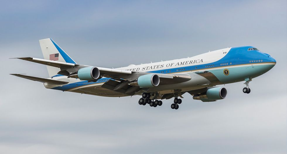 The problem with letting Trump come up with a new look for Air Force One