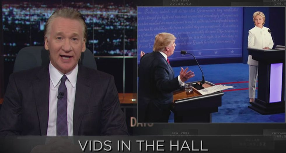 Bill Maher calls 'bullsh*t' on 'lesser of two evils' voter complaints: 'Grow the f*ck up'