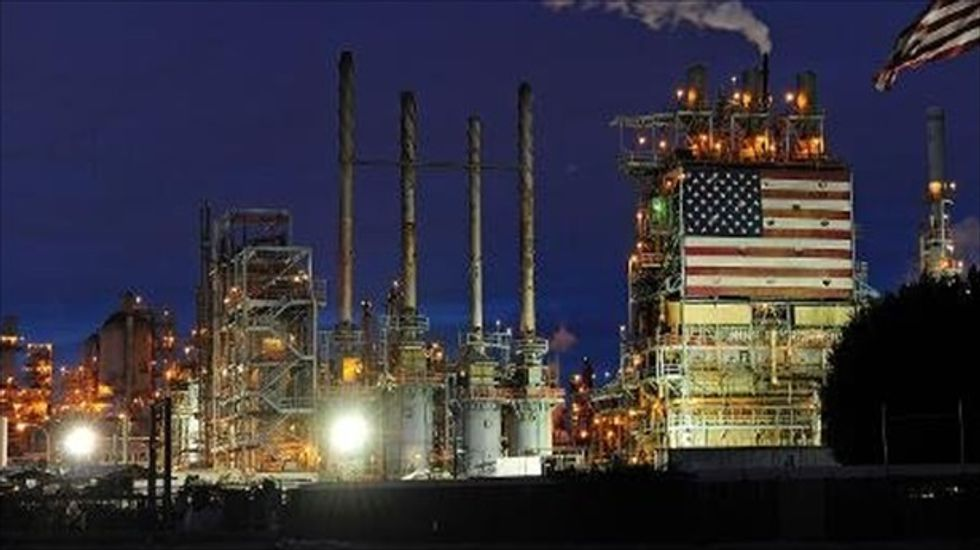 20 percent of US production capacity knocked out by refinery strike