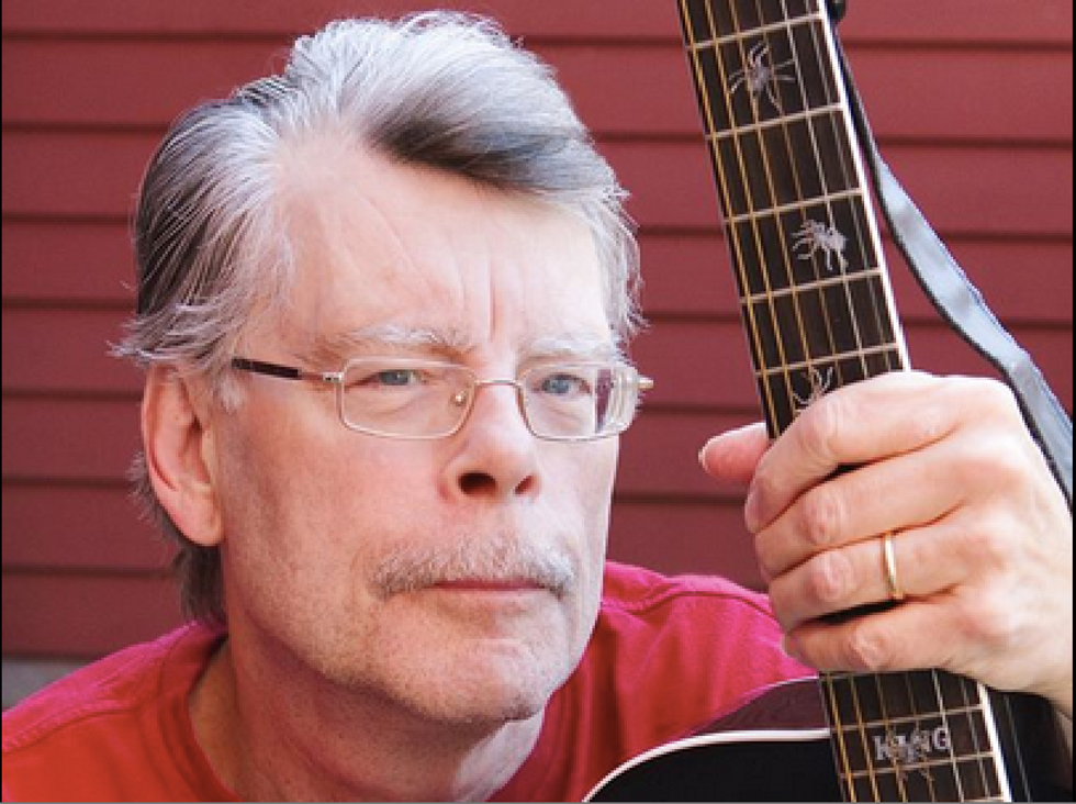 Stephen King says Maine's Tea Party governor is full of shit