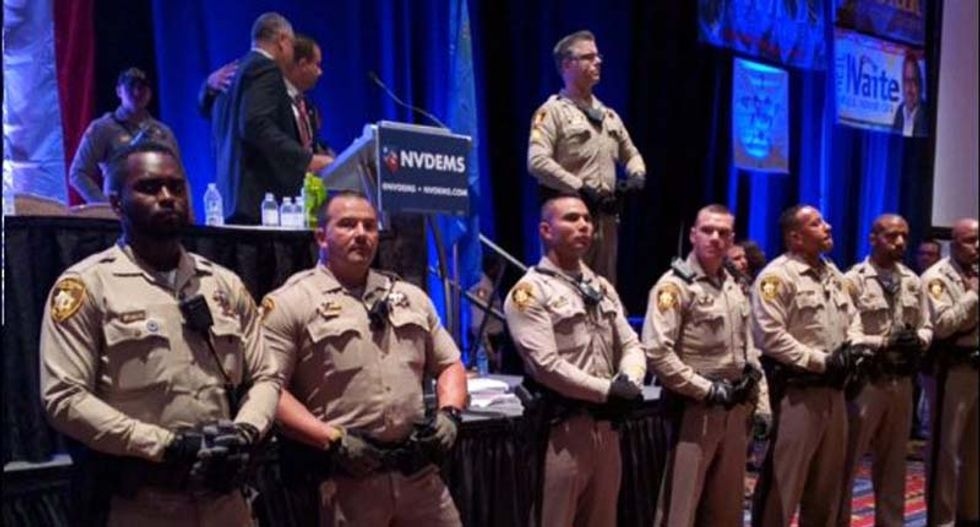 Nevada Democrats defend exclusion of Bernie convention delegates that led to explosion of anger