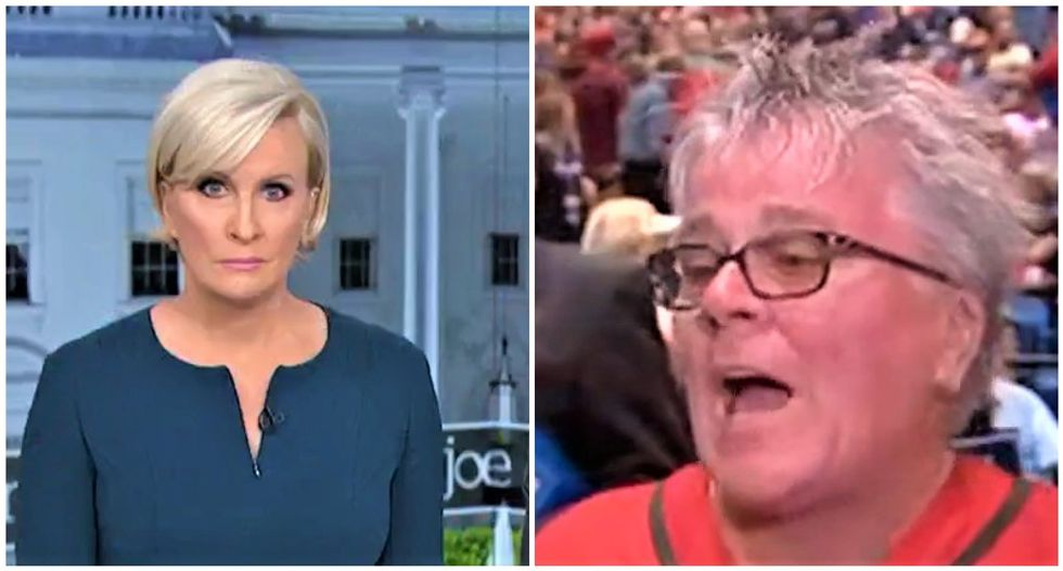 Morning Joe panel stunned by Trump supporter who believes his inauguration crowd was bigger than Obama's