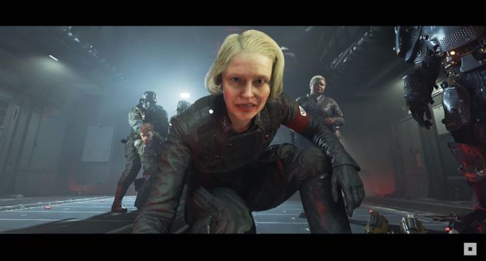 White nationalists are having a meltdown because new 'Wolfenstein' video game Nazis aren't portrayed as heroes