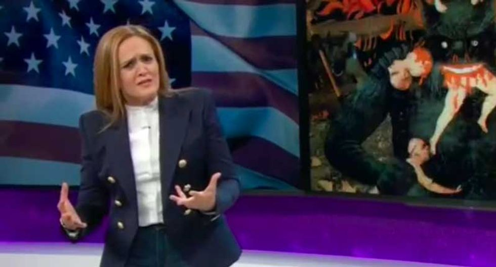 Samantha Bee's epic smackdown of right-wing Christians' political hypocrisy is an instant classic