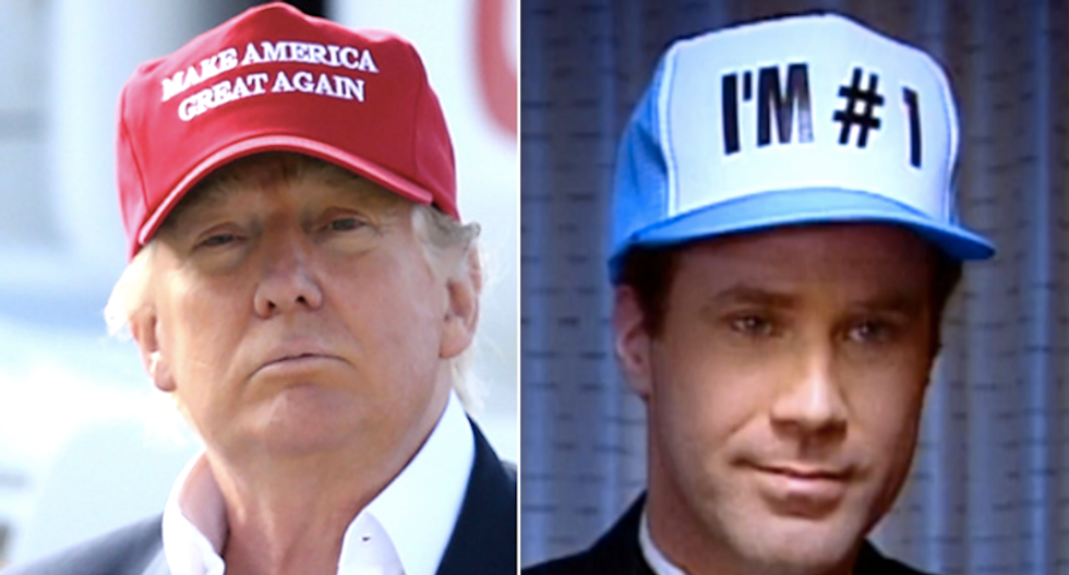 A psychologist explains how Trump has all the personality of Will Ferrell's goofy 'I'm #1' hat