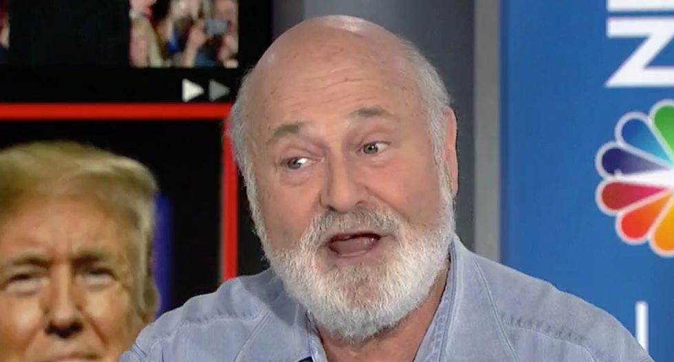 'Civil War': Rob Reiner explains why Trump keeps egging on his 'angry' supporters