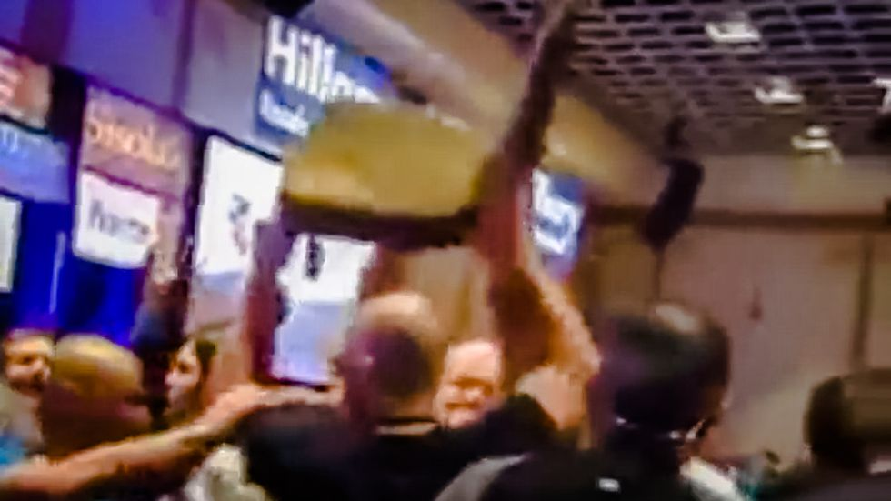 Bernie backers 'reality check' Nevada violence: Video proves we only 'lifted a chair in frustration'