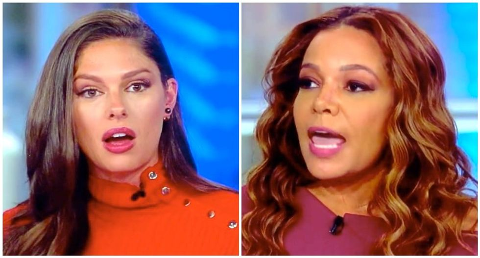 The View's Abby Huntsman blames Democrats for Kavanaugh debacle -- and Sunny Hostin burns her down