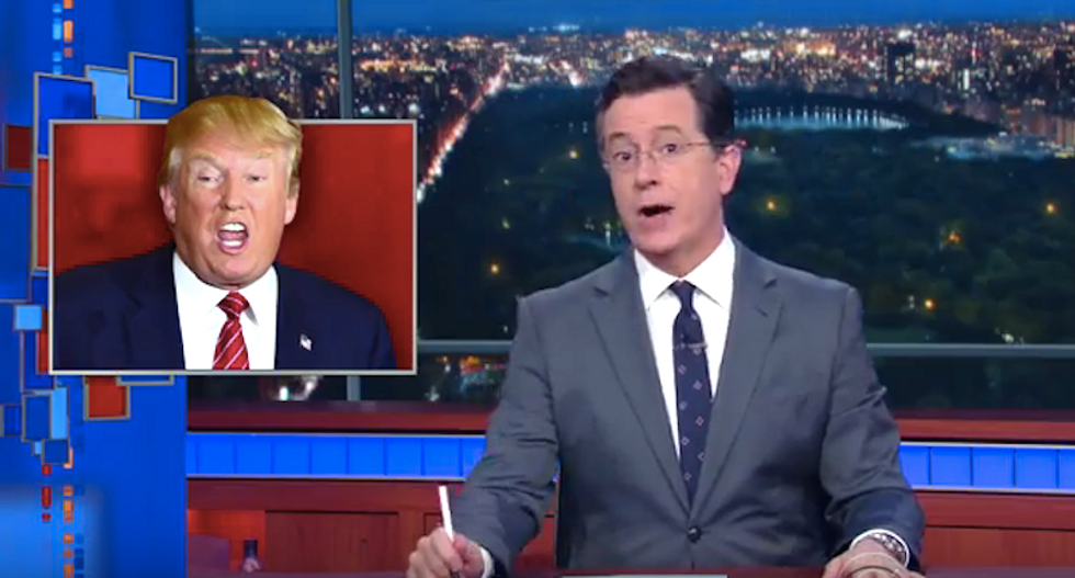 Colbert: Trump campaign is reality TV — and 'GOP convention will be the series finale of America'