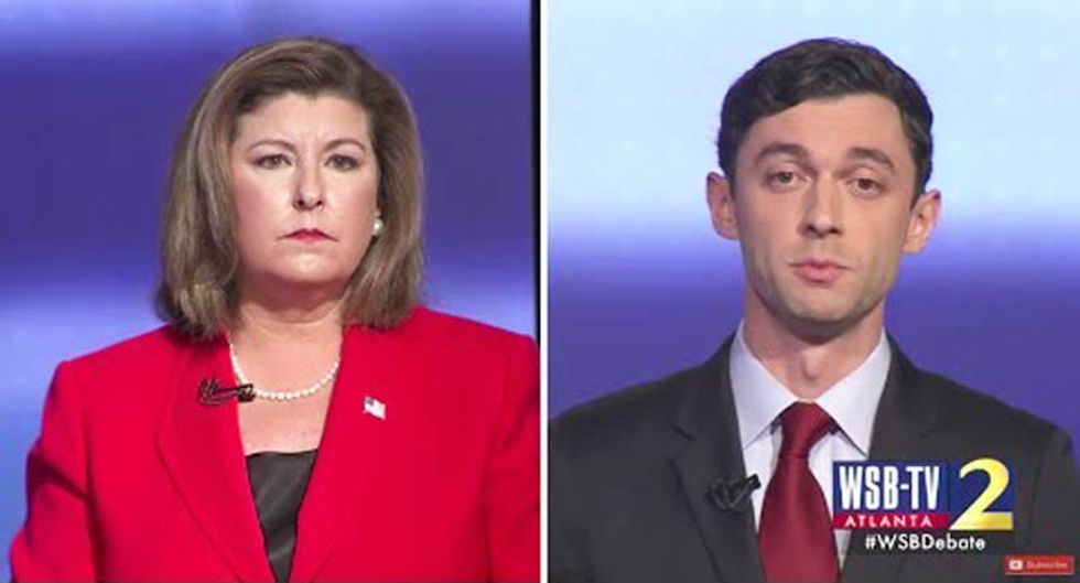 WATCH: Live coverage of the Ossoff-Handel Georgia election results