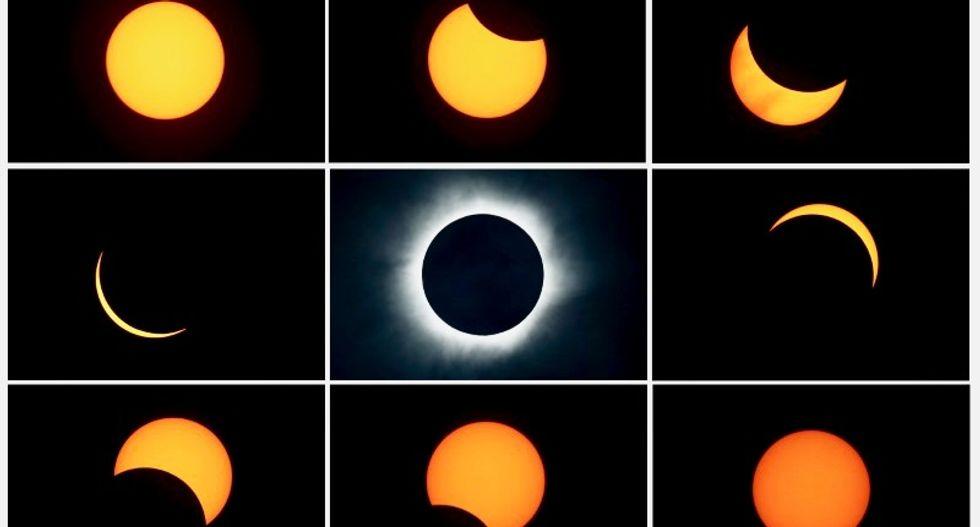 US total solar eclipse sparks spectator excitement
