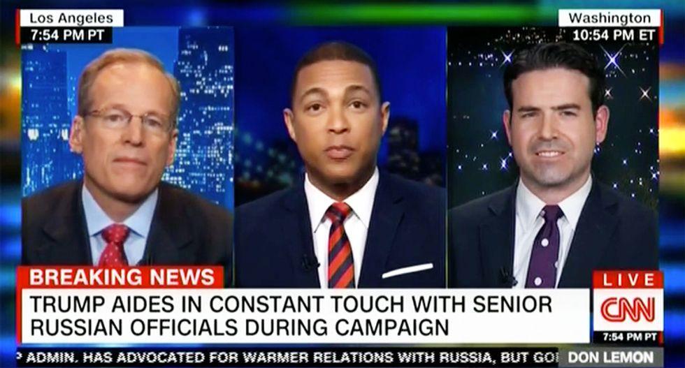 WATCH: Don Lemon smacks down Trump advocate complaining intel community 'illegally' spied on Flynn
