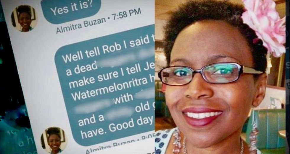 Sprint gives black woman's phone number to racist harasser who sends her violent threats