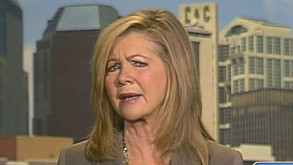 Marsha Blackburn invents new way to deny global warming: Humans are not 'the cause for carbon emissions'
