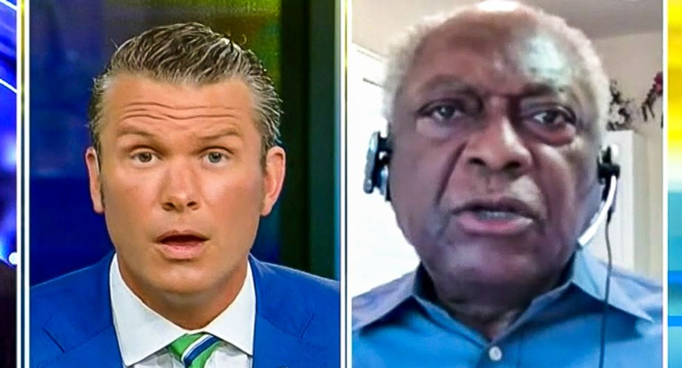 'You should have reported it': James Clyburn scolds Fox News host over white supremacists inciting violence