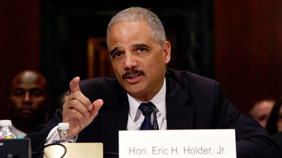 Eric Holder to remain U.S. attorney general through November elections at least