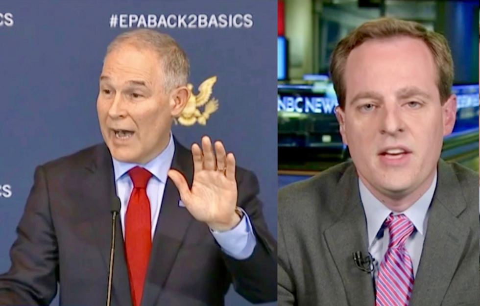 'He likes that he's a lightning rod': Watch Pulitzer-winning analyst explain how Trump is 'trolling' America with scandal-ridden EPA boss