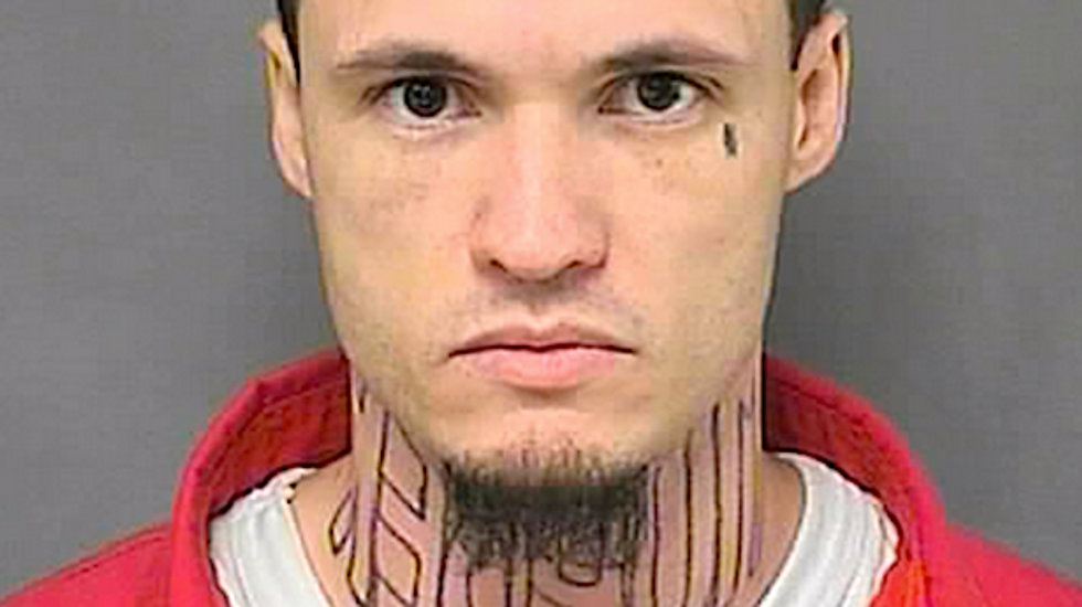 Accused KS killer can't have 'MURDER' tattoo removed, so he'll wear turtleneck in court