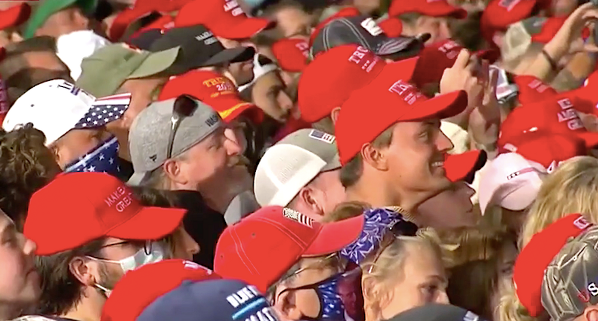 Trump supporter explicitly says he won't get vaccinated 'because it makes liberals mad'