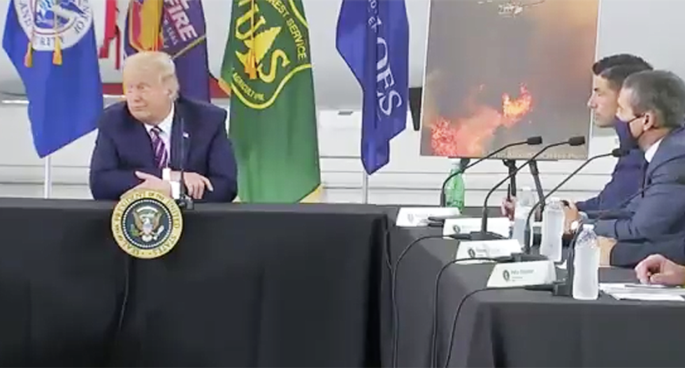 'And COVID will just disappear, right?': Trump ridiculed for claim climate change will 'get cooler'