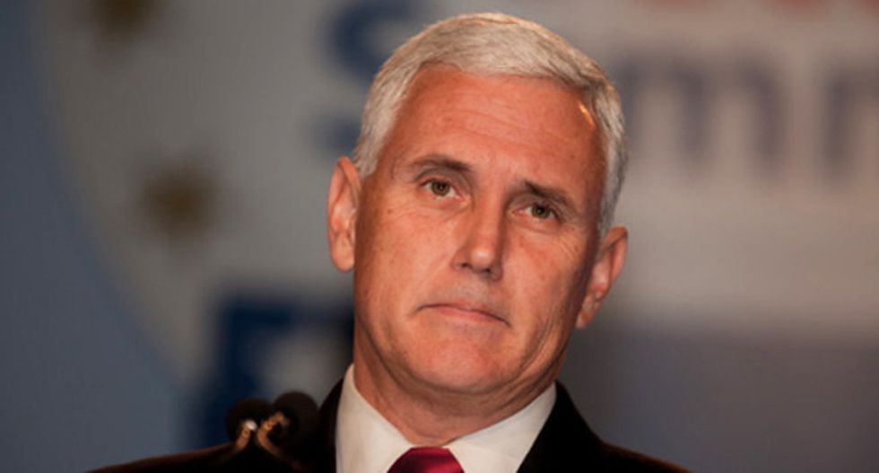 Pence complained about Clinton's email server while using a personal AOL email — and it was hacked