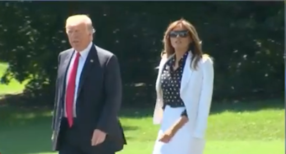 Melania convinced Trump to spurn the press as White House officials fear president's growing anger: report