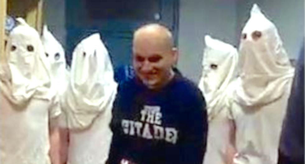 Citadel military college cadets caught wearing KKK hoods while singing Christmas carols