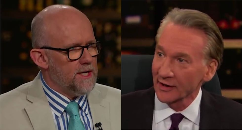 WATCH: Bill Maher and Rick Wilson pummel Trump for being 'hip-deep' in Russian spies in the Oval Office